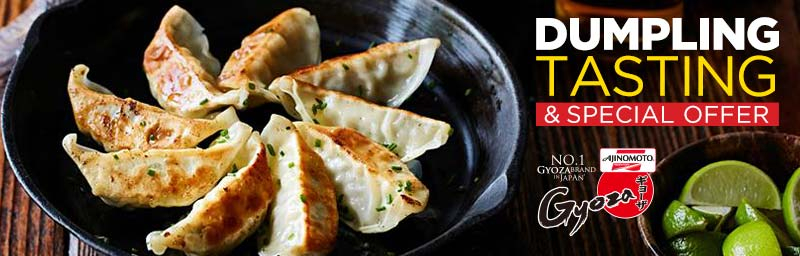 Dumpling Tasting Event and Special In-Store Offers at Asia Market on 8th & 9th December