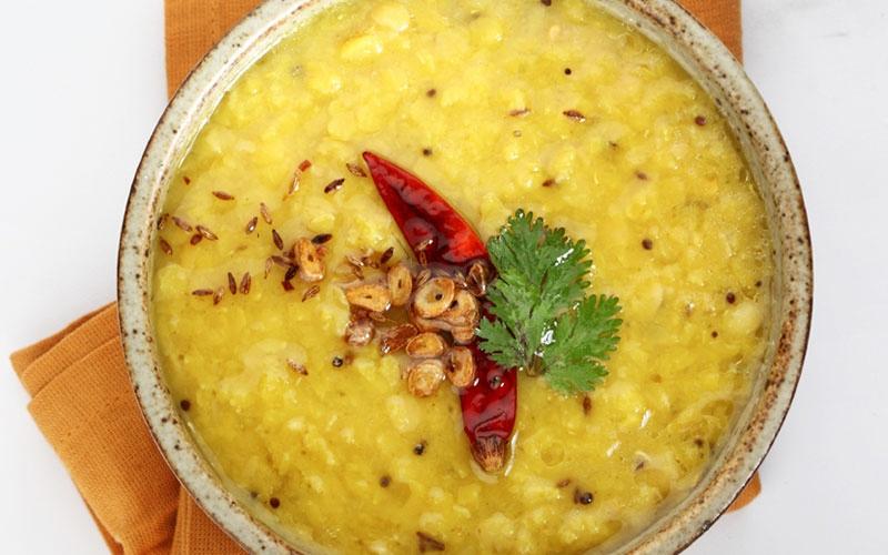 Punjabi Dal Tadka (Yellow Lentil Dal)