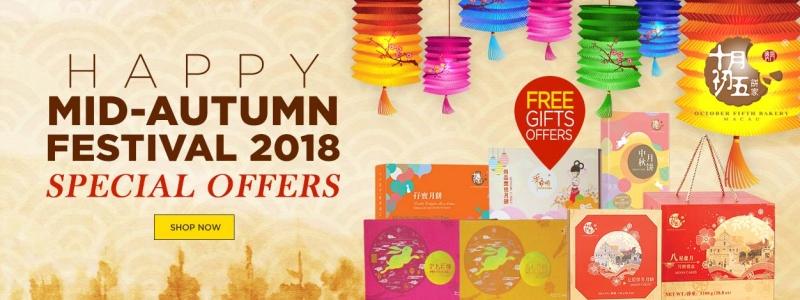 Mid-Autumn Festival Offers 2018