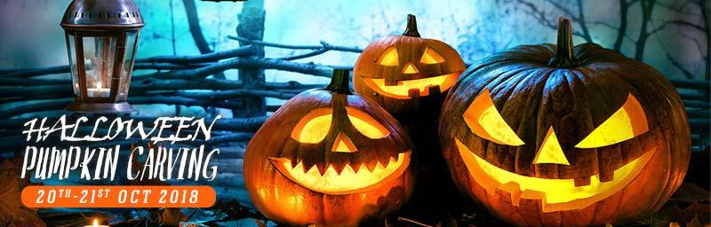 Halloween Pumpkin Carving at Asia Market