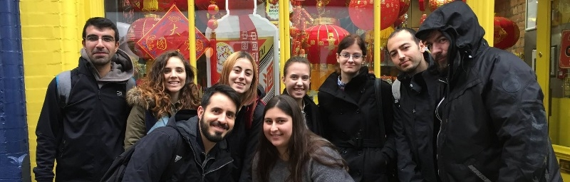 Students Tour to Asia Market