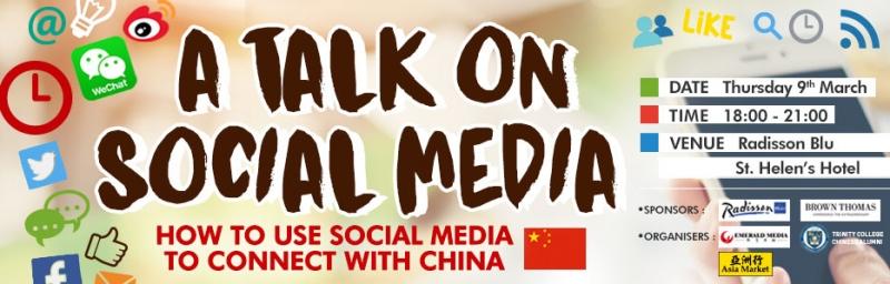 A Talk on Social Media 2017