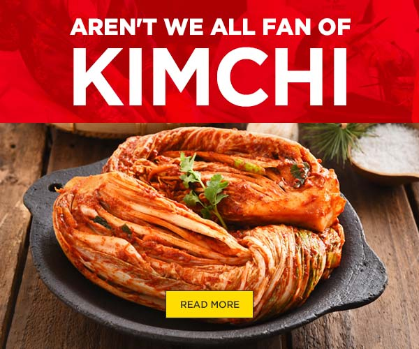Aren't We All Fan Of Kimchi