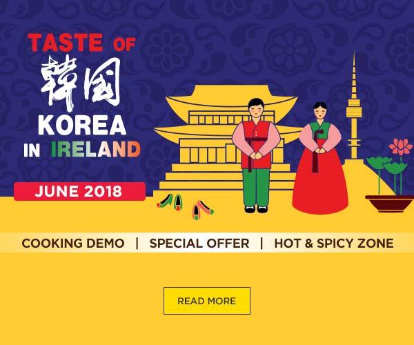 Taste of Korea in Ireland