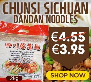 Chunsi Szechuan Dan Dan Noodle 2kg