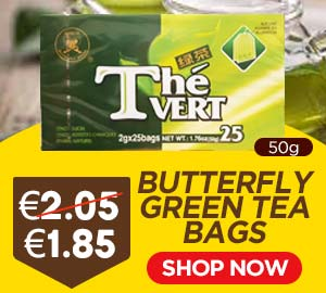 Butterfly Green Tea Bags