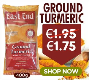 East End Ground Turmeric 400g