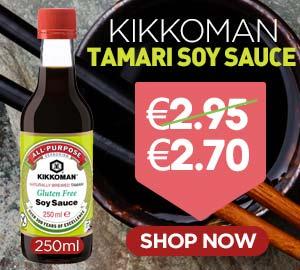 Kikkoman Tamari Soy Sauce 250ml