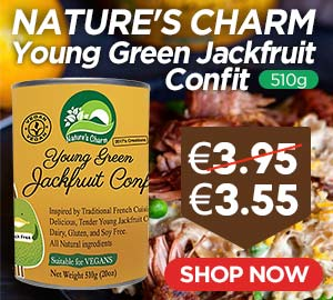 Natures Charm Young Green Jackfruit Confit