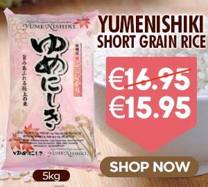 Yumenishiki Short Grain Rice 5kg