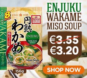 Hikari Enjuku Wakame Miso Soup 156g Offer