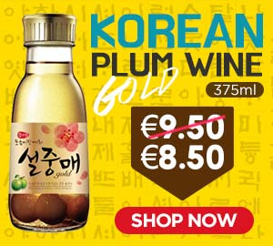 Korean Gold Plum Wine 375ml