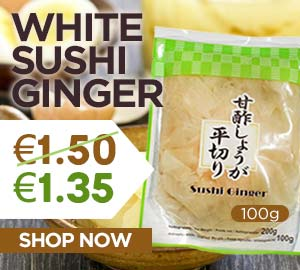 White Sushi Ginger 100g Offer