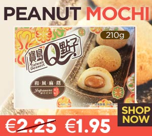 Peanut Mochi 210g Special Price