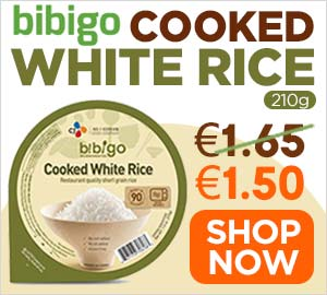 CJ-Bibigo Cooked White Rice 210g