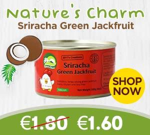 Nature's Charm Sriracha Grenn Jackfruit 200g