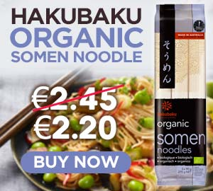 Hakubaku Organic Somen Noodle 270g Offer