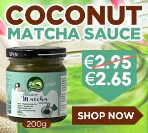 Nature's Charm Coconut Matcha Sauce 200g