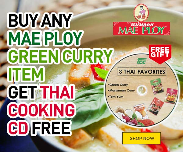 Maeploy Green Curry Paste & CD