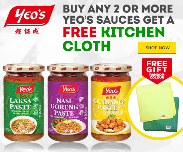 Yeo's Free Kitchen Cloth