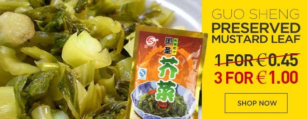 Guo Sheng Mustard Leaf