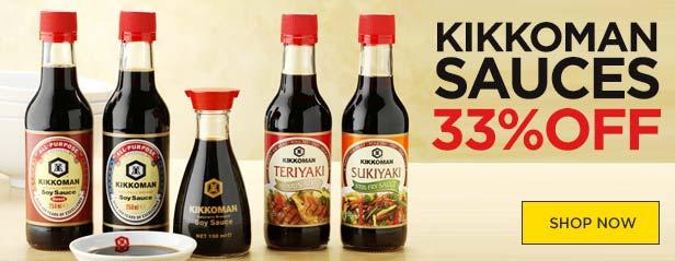 Kikkoman Sauces Offer