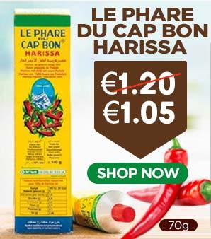 Le Phare Du Cap Bon Harissa 70g