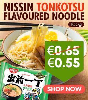 Nissin Tonkotsu Flavoured Noodles