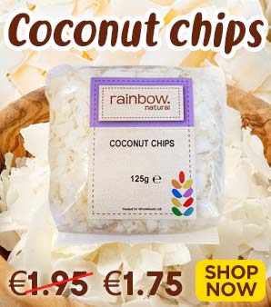 Rainbow Coconut Chips