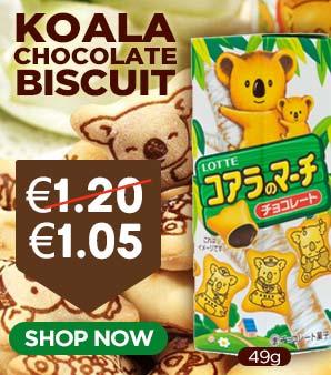Lotte Koala Chocolate Biscuit 49g