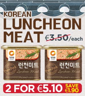 Korean Luncheon Meat Offer