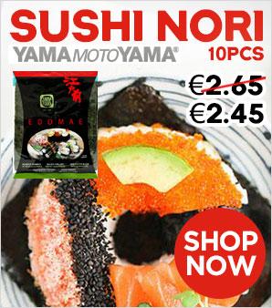 YMY Sushi Nori 10pcs