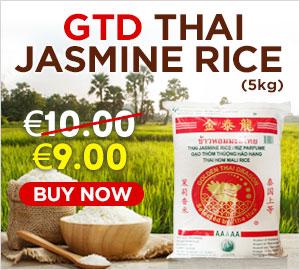GTD Thai Jasmine Rice 5kg