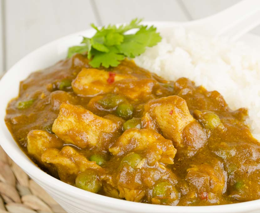 Hong Kong Style Chicken Curry